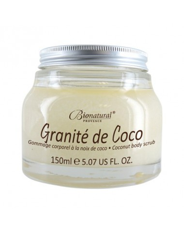 Gommage corps bio, Bionatural Granité de coco