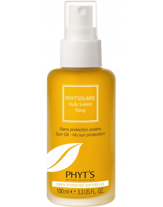 Huile solaire Ylang bio, Phyt's
